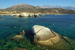 Acqua della Corsica Immagine Stock Libera da Diritti