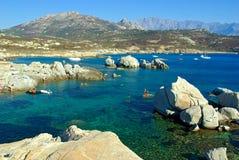 Acqua della Corsica Fotografie Stock