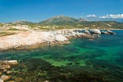 Acqua della Corsica (Francia) Immagine Stock