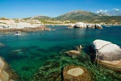 Acqua della Corsica (Francia) Immagini Stock
