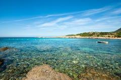 Acqua della Corsica (Francia) Immagini Stock Libere da Diritti