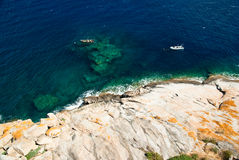 Acqua della Corsica (Francia) Fotografia Stock