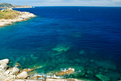 Acqua della Corsica (Francia) Immagine Stock Libera da Diritti
