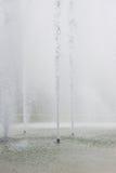 Acqua della fontana Fotografie Stock