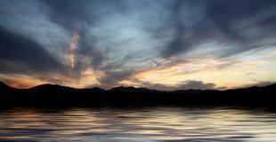 Acqua della montagna Fotografie Stock Libere da Diritti