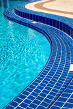 Acqua della piscina Immagine Stock