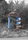 Acqua della pompa per agricoltura di irrigazione Immagini Stock Libere da Diritti