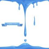 Acqua della sgocciolatura Immagine Stock