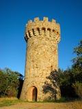 acqua della Toscana della torretta di stile Immagini Stock