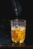 Acqua dello zafferano Immagine Stock