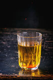 Acqua dello zafferano Fotografia Stock Libera da Diritti