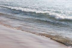 Acqua di Cail, mare a Tel Aviv, Israele Fotografie Stock