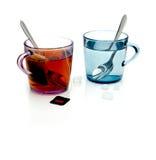 Acqua di colore Fotografia Stock