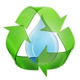 Acqua di Eco Immagini Stock