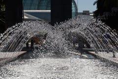 Acqua di Fountaining fotografia stock libera da diritti
