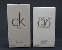 Acqua di Gio and ck One Stock Photo