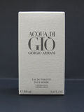 Acqua di Gio fragrance Stock Image