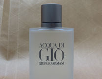 Acqua di Gio fragrance Royalty Free Stock Photography