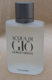 Acqua di Gio fragrance. MILAN, ITALY - CIRCA MARCH 2014: Giorgio Armani, Acqua di Gio fragrance for men is one of the evergreen bestselling perfumes worldwide royalty free stock image