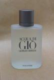 Acqua di Gio fragrance Stock Photography