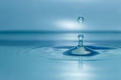 Acqua di goccia Fotografia Stock