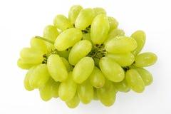 Acqua di goccia sull'uva verde Fotografia Stock Libera da Diritti