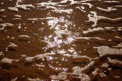 Acqua di lampeggiamento Fotografia Stock