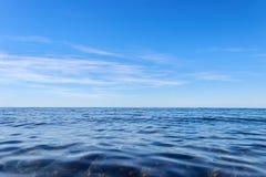 Acqua di mare blu Immagine Stock