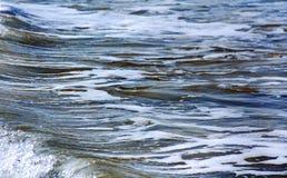 Acqua di mare con il modello di marmo come fondo astratto immagini stock libere da diritti