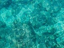 Acqua di mare del turchese Fotografia Stock