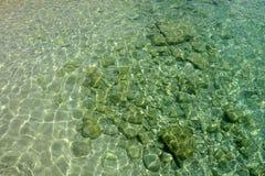 Acqua di mare di cristallo Immagini Stock