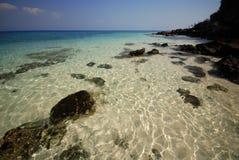 Acqua di mare libera Fotografia Stock Libera da Diritti