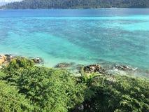 Acqua di mare nel lipe di thailland Fotografia Stock Libera da Diritti