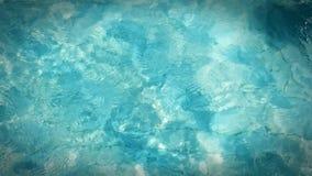 Acqua di rilassamento della radura della piscina dell'onda Fotografia Stock