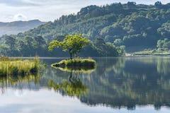 Acqua di Rydal, distretto del lago, Regno Unito Fotografie Stock