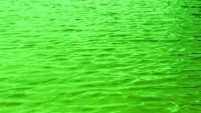 Acqua di superficie, mare, fiume con le onde delicate stock footage