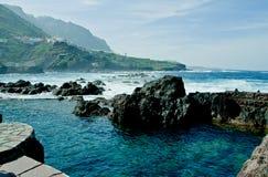 Acqua di Tenerife Fotografia Stock Libera da Diritti