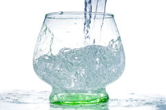 Acqua di versamento Fotografia Stock