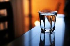 Acqua di vetro Fotografia Stock