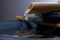 Acqua di zen fotografia stock