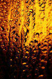Acqua dorata Fotografia Stock