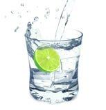 Acqua e calce immagine stock libera da diritti