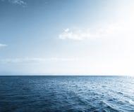 Acqua e cielo Fotografia Stock Libera da Diritti