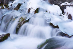 Acqua e ghiaccio fotografie stock libere da diritti
