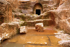 Acqua e roccia Fotografia Stock Libera da Diritti