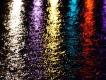 Acqua ed indicatore luminoso Immagini Stock