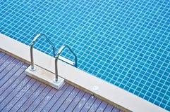 Acqua ed ombrelli Fotografia Stock