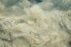 Acqua fangosa Fotografia Stock
