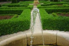 Acqua in fontana Fotografie Stock