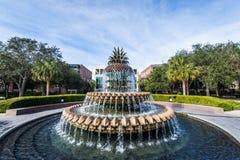 Acqua Front Park in Charleston South Carolina fotografia stock libera da diritti
